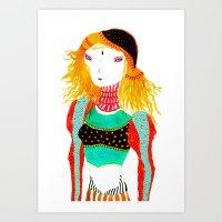 Shonali Art Print