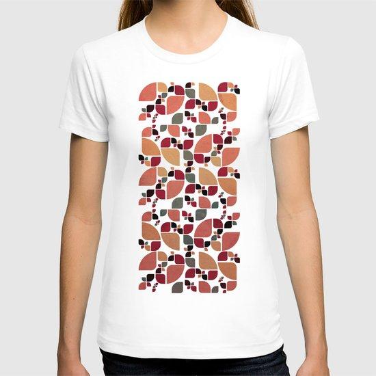 Vintage Butterflies Pattern T-shirt