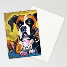 Boxers  Stationery Cards