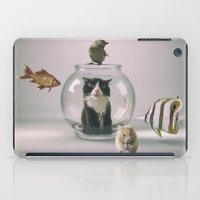 Curiosity killed the cat iPad Case