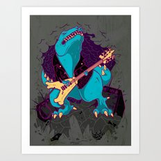 T-Rox Art Print