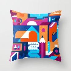 Creative Process Throw Pillow