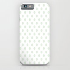Green Spotty Pattern  iPhone 6 Slim Case