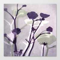 Abstract Florals Canvas Print