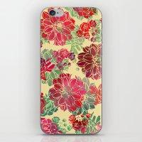 Flower Pattern Design #3 iPhone & iPod Skin