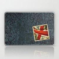 Sticker with UK flag Laptop & iPad Skin