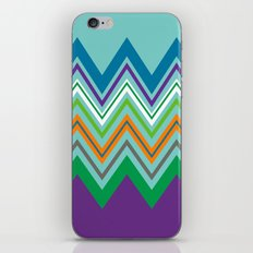 Beach Party Chevron iPhone & iPod Skin