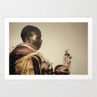 Samburu Girl Art Print