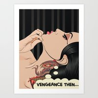 Lady Vengeance Art Print