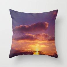 Morning Hues Throw Pillow