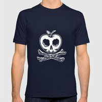 Sweet Remains Mens Fitted Tee Navy SMALL