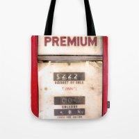 Old Premiums Tote Bag