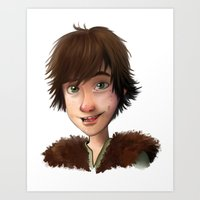 A Little Hiccup Goes A L… Art Print