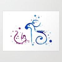 Elemental Spirits - Mother and Child Art Print