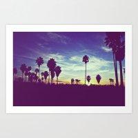 Venice Beach, CA .3 Art Print