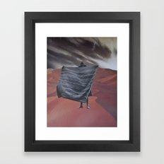 collage 13 Framed Art Print