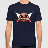 Bacon Mens Fitted Tee Navy SMALL