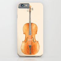 Cello - Watercolors iPhone 6 Slim Case