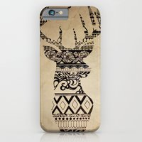 iPhone Cases featuring Oh Deer, Oh My by Madelyne Joan Templeton