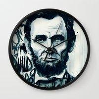 Lincoln A.D. 2012 Wall Clock