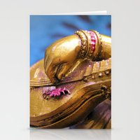 The Playing Hand. Stationery Cards
