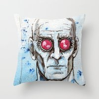 Dr Victor Fries Throw Pillow