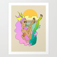 Jetsam Art Print
