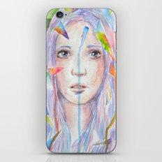 Rainbow eyes iPhone & iPod Skin