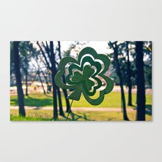 Symbol of luck Canvas Print