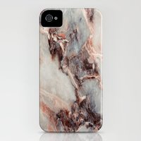 iPhone 4s & iPhone 4 Cases featuring Marble Texture 85 by Robin Curtiss