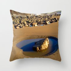The Rock Pool Throw Pillow