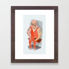 Convict Framed Art Print