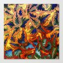 colorful foliage Canvas Print