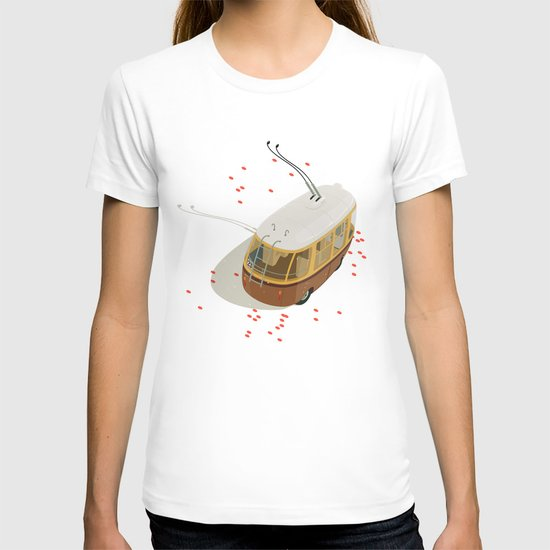 Trolley Rides The Field T-shirt