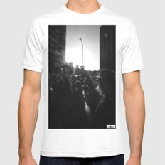 Unite Mens Fitted Tee SMALL White