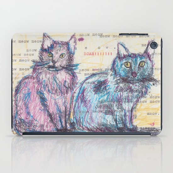 Here kitty, kitty iPad Case