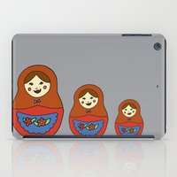 3 Matroyshkas iPad Case