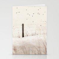 Roadside Fence Stationery Cards