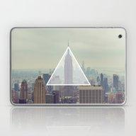 New York Triangle Laptop & iPad Skin
