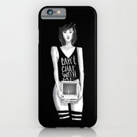 Can't chat With Me iPhone 6 Slim Case