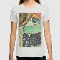 Reach Womens Fitted Tee Silver SMALL