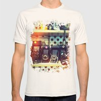 Camera Shop Mens Fitted Tee Natural SMALL