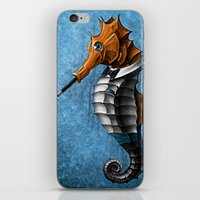 Sophisticated Seahorse iPhone & iPod Skin