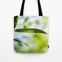 Bamboo Leaf Tote Bag