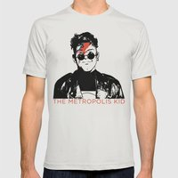 The Metropolis Kid Mens Fitted Tee Silver SMALL