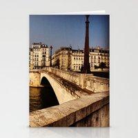 Bridges of Paris - Ile Saint Louis Stationery Cards