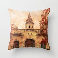 Season Of Fire Part II Throw Pillow