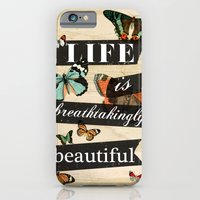 Life is Breathtakingly Beautiful iPhone 6 Slim Case