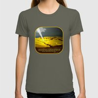 The Road To Damascus Womens Fitted Tee Lieutenant SMALL