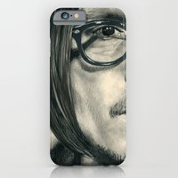 iPhone & iPod Case featuring Secret Window Traditional Portrait Print by bianca.ferrando